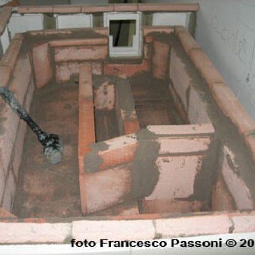 La tecnica di riscaldamento della stufa in maiolica. Come scalda una stufa. Arte Calore Verona