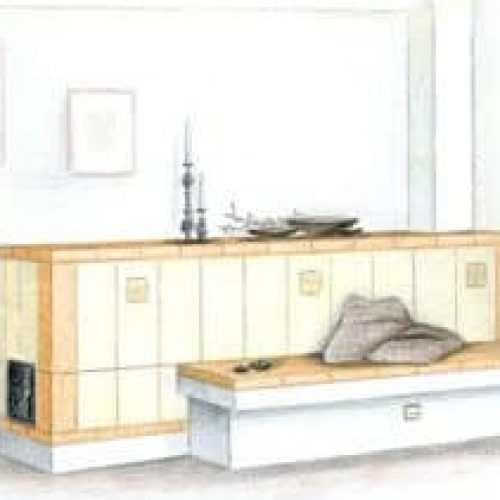 La tecnica di riscaldamento della stufa in maiolica. Le fasi della costruzione. Arte Calore Verona